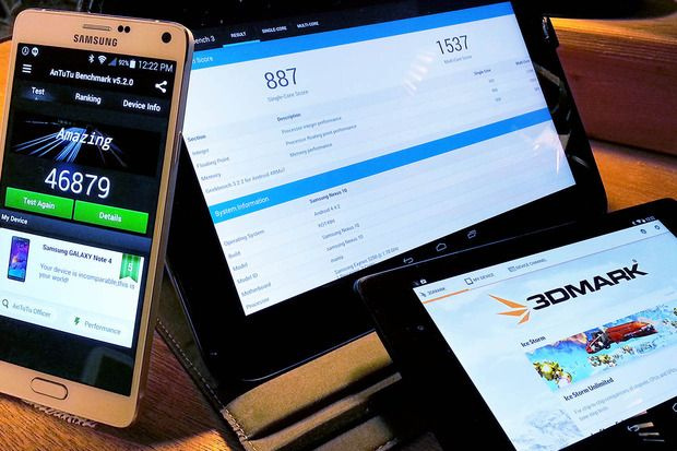 Test your Android phone's performance with these free benchmarking tools