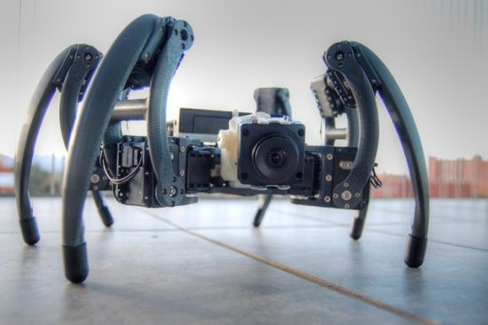 3ders.org - Young student builds hexapod robot with Dimension 3D printer