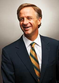 Tennessee Governor, Bill Haslam