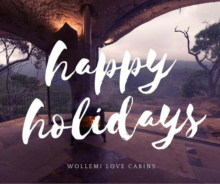 Happy Holidays from Wollemi Love Cabins