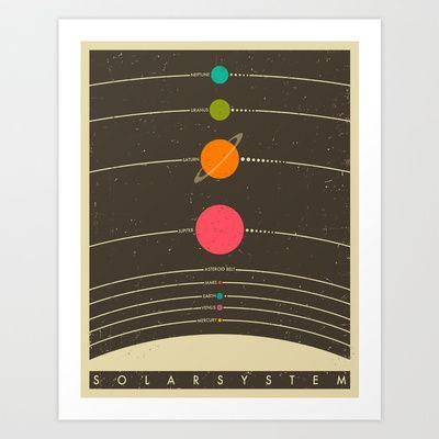 Solar+System+Art+Print+by+Jazzberry+Blue+-+$19.00