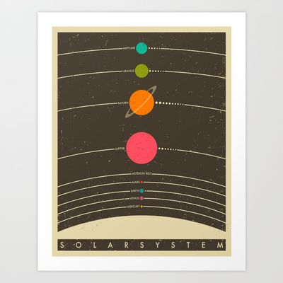 Solar+System+Art+Print+by+Jazzberry+Blue+-+$19.00