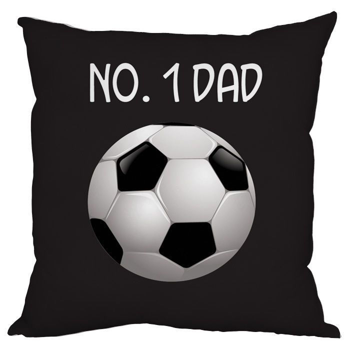 FATHERS DAY FOOTBALL DESIGN CUSHION NO 1 DAD GIFT in Home, Furniture & DIY, Celebrations & Occasions, Other Celebrations & Occasions | eBay