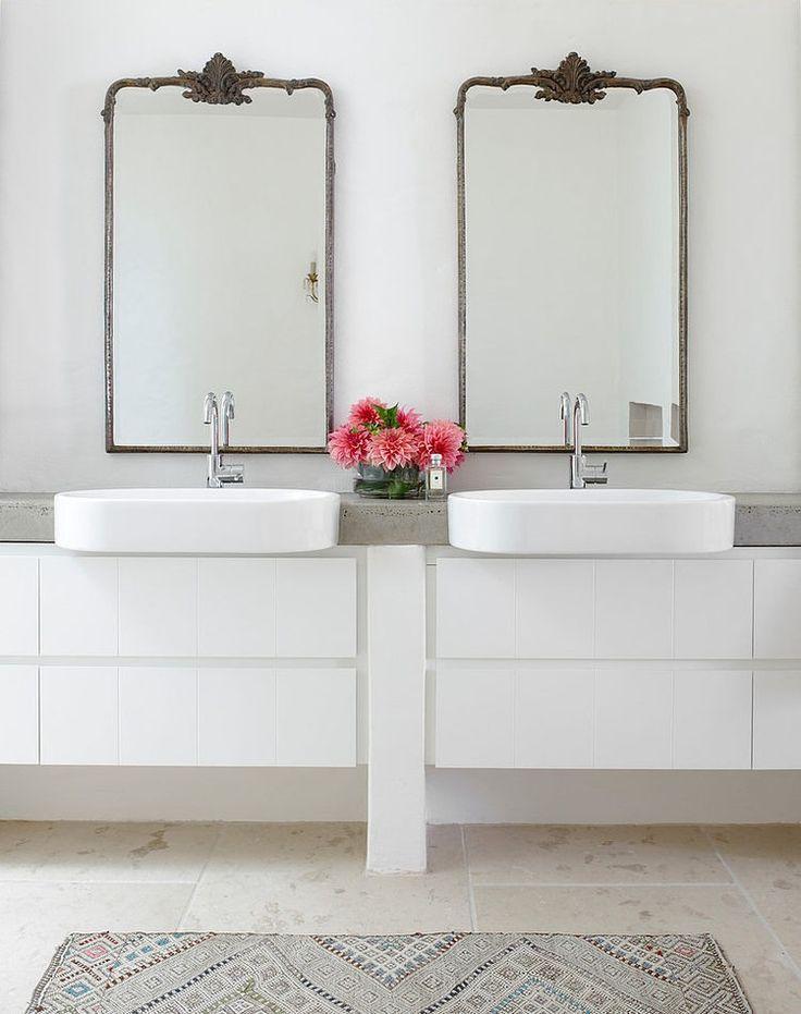 Beach House by Walter Barda Design  #bathroom ideas
