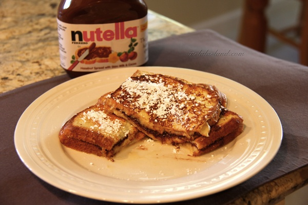 Nutella Stuffed French Toast | Om Noms | Pinterest