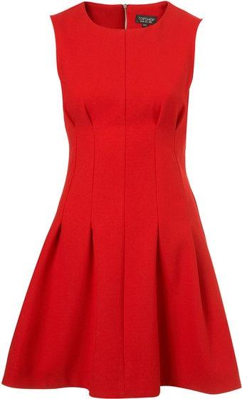 Seam Waist Shift Dress, Top Shop