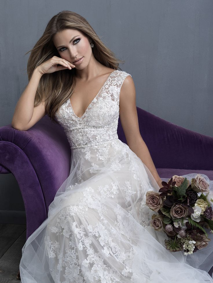 Allure Bridals and Allure Couture at the Country Bride and Gent in West Point, PA. 2018 Collection #bridalgowns #weddingdress