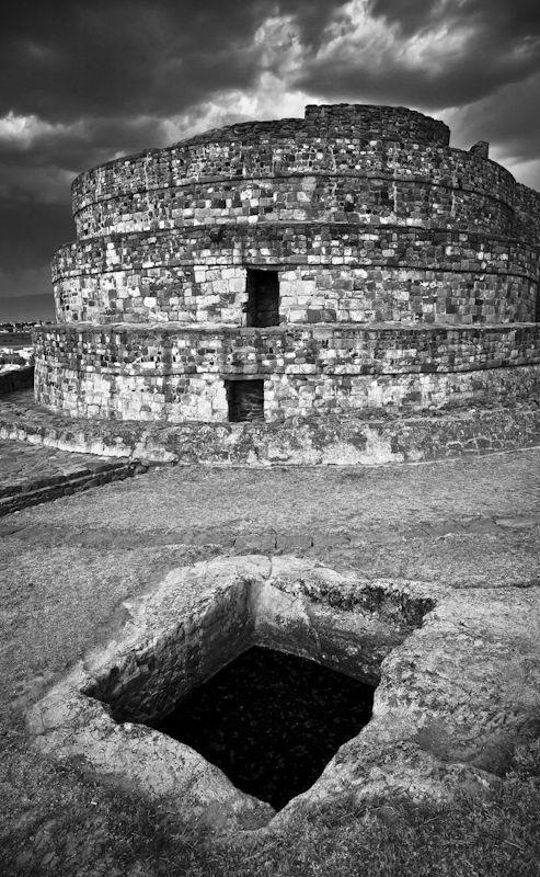 CALIXTAHUACA RUINS BY JOHN BARTOSIK