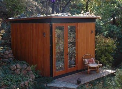 Cabina para jardín