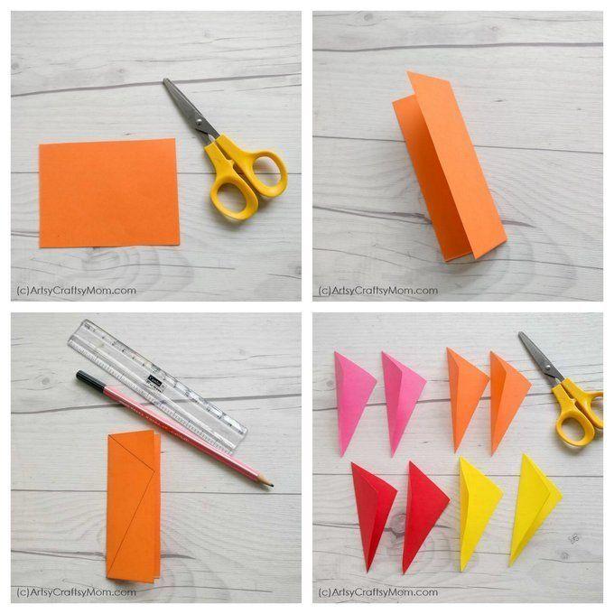 Diy Popup Kite Card For Sankranti Kites Craft Kite Paper Crafts