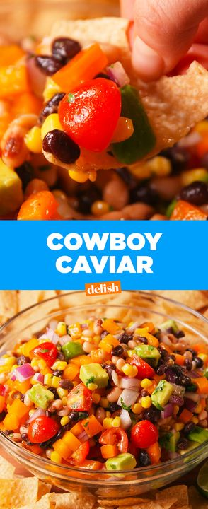 Cowboy Caviar is the healthiest addiction you'll ever have. Get the recipe from Delish.com.