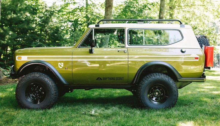 Scout II - Side | Wheels | Scout truck, International ...