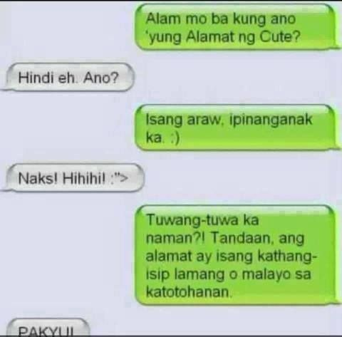 Ilocano Funny Love Quotes : ... tagalog jokes on Pinterest Funny, Pick up line and Filipino funny