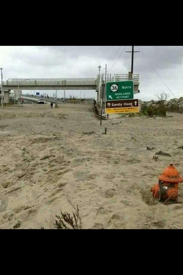 Hurricane Sandy In Sea Bright Nj