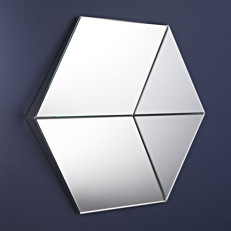25 best ideas about miroir hexagonal on pinterest for Miroir autocollant ikea