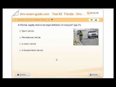 Is there a Florida practice test for driving?