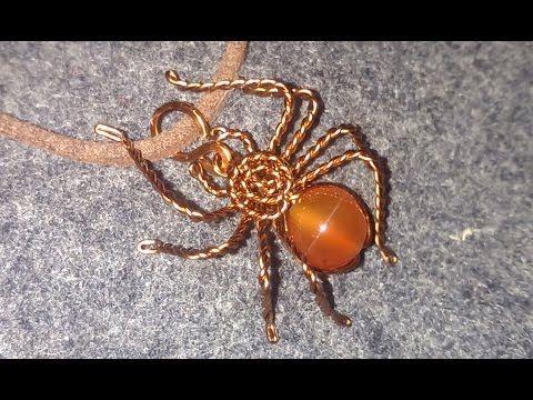 How To Make Copper Wire Spider Hướng Dẫn L 224 M Con Nhện
