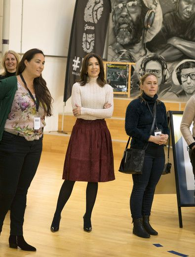 "Crown Princess Mary participated in the Mary Foundation's ""Loving measure"" conference"