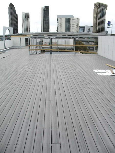 Modwood decking - silver gum, front porch and back deck