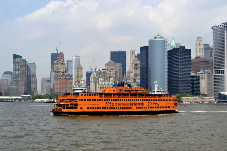 Staten Island Ferry by Marty Reep
