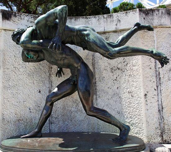 Public Male Nude Sculpture  1930S  -7473