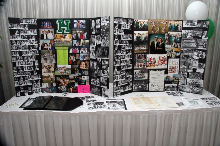 Tri Fold Display Boards Reunion Displays Pinterest Display