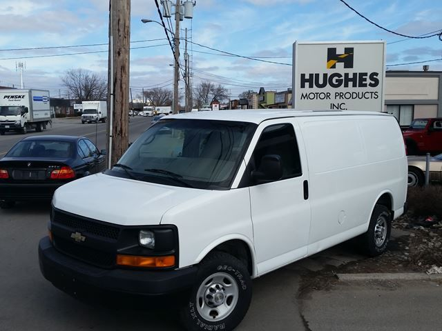 2007 CHevrolet Express 1500 Cargo Van, Automatic.  Other Features Included: ABS, Power Steering, Rear Wheel Drive, A/C.<br><br>>>Vehicles guaranteed, certified. All trade-ins welcome.<br>>> Financing available. All credit applications are accepted and reviewed regardless of credit rating.  All trade-ins welcome. Hughes Motor Products 416-252-1100