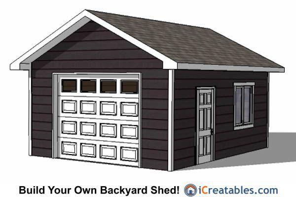 Building A Large Shed 16x20 Garage Door Shed Plans Diy Shed Plans Shed Plans Large Sheds