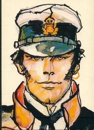 Corto Maltese bt=y Hugo Pratt  Be a Modern Ulysses… keep exploring the World.