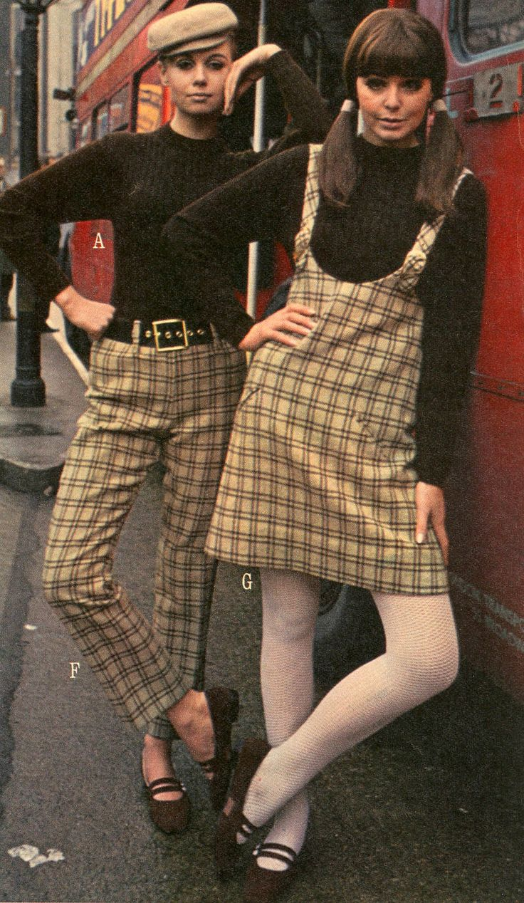 Pattie Boyd and others in Mary Quant fashions for J.C. Penney, 1966.
