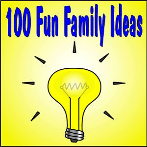 Some basic, but some really great ideas of things to do on family fun night!!