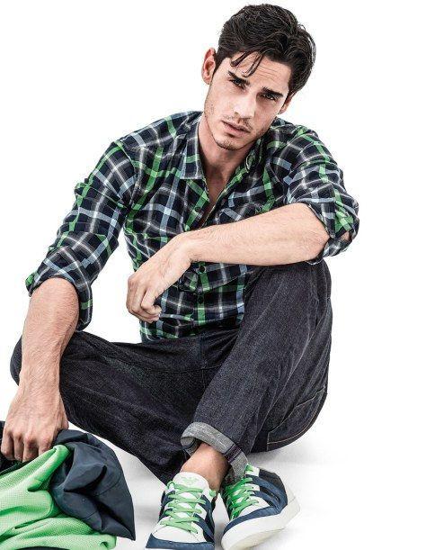 Men's casual style | Plaid shirt