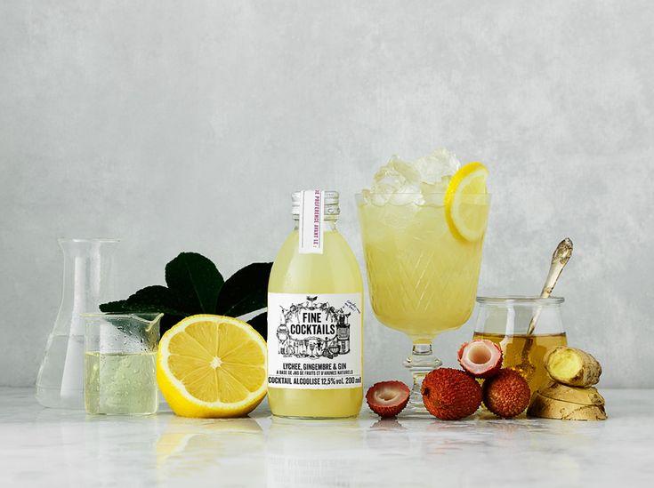 Une recette à base de gingembre aphrodisiaque par Fine Cocktail - Saint Valentin