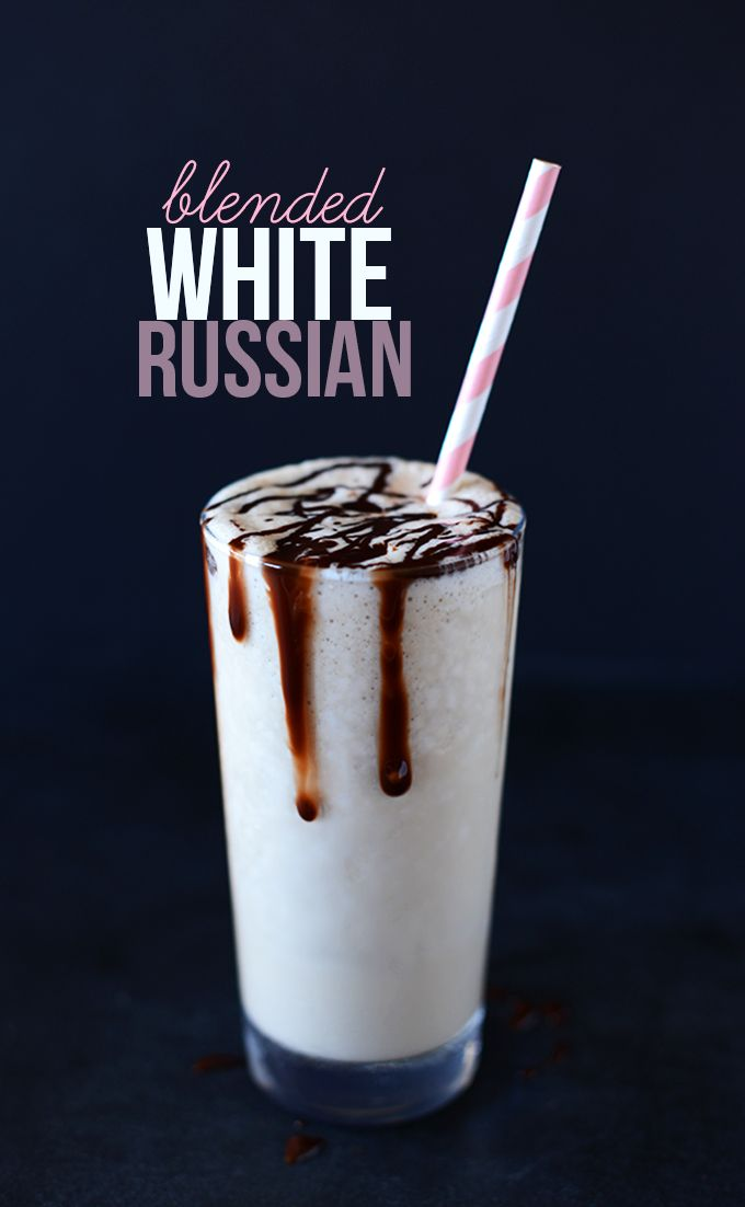 This beverage is a D-R-E-A-M!! Creamy, coffee-infused, plenty boozy and only slightly coconutty. Topped with a drizzle of chocolate sauce... it's PURE SIN!!