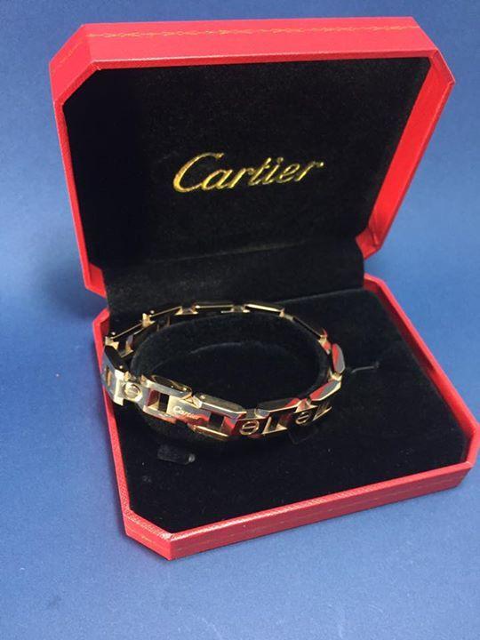 Esclava Catier , contiene caja y bolsa shopping pedidos al WhatsApp 9993269325