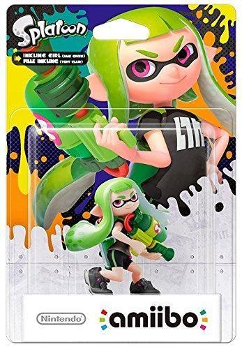 Amiibo Fille Inkling Verte Splatoon - WII U - Acheter vendre sur Référence Gaming