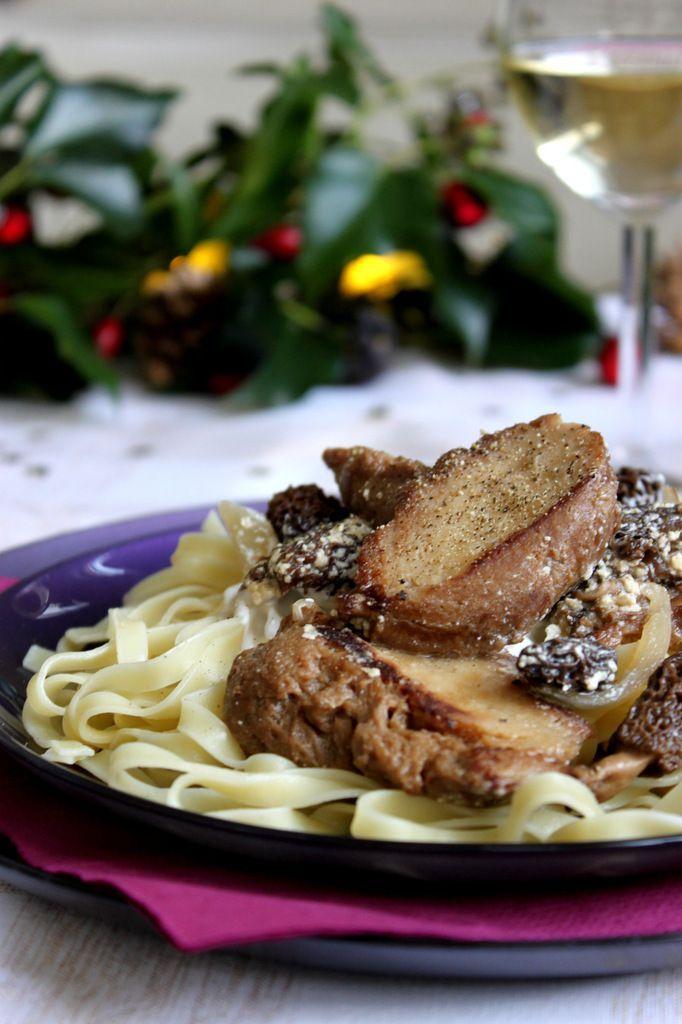 Seitan aux morilles et sauce au vin blanc ✮ recette festive