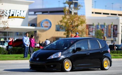 Honda Fit get Low #Honda #CustomHondas #HondaCityLI