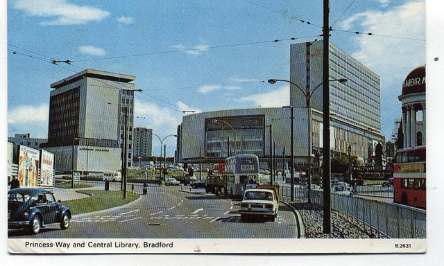 Bradford, West Yorkshire. It's not what it used to be like in my childhood and youth