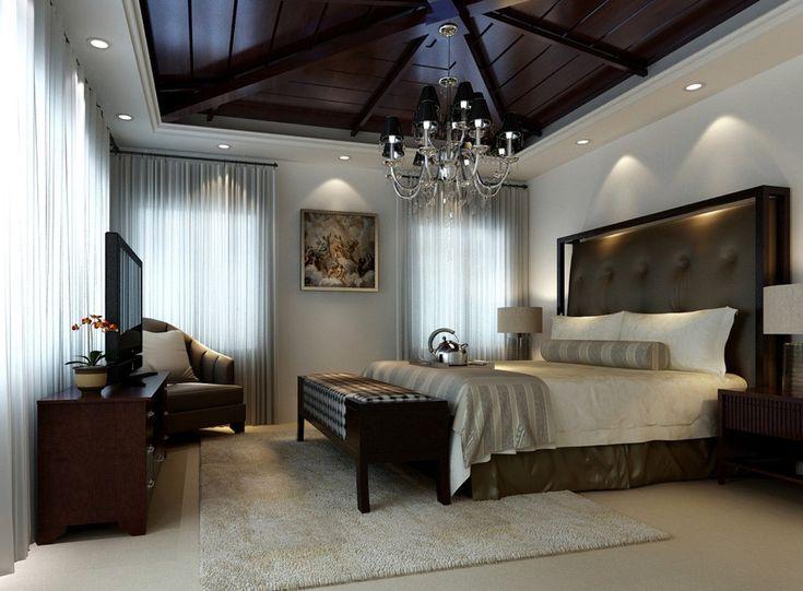 en güzel yatak odası avize örnekleri