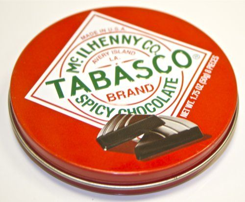 Three Top Tabasco Chocolate Choices - All Great Gifts - http://www.pepperscale.com/tabasco-chocolate/