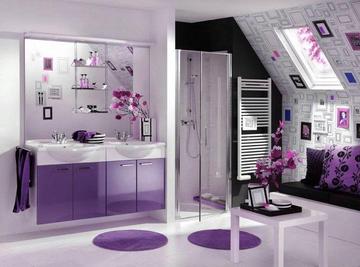 Purple Bathroom Ideas: 17 Best Ideas About Purple Bathrooms On Pinterest
