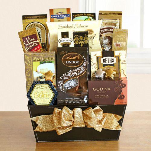 Our Fine & Fancy Gourmet Gift Basket: