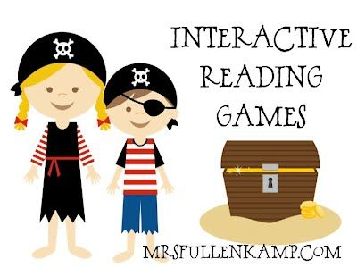 HUNDREDS of interactive reading games divided by topic (vowels, word families, sight words, inferences, grammar, and many more)  Amazing site!