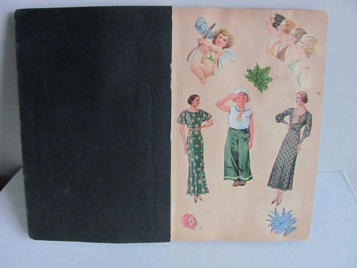 Vtg SCRAPBOOK UNIQUE VARIETY Children Advertising Scraps, Seals, Cards 1930's  | eBay