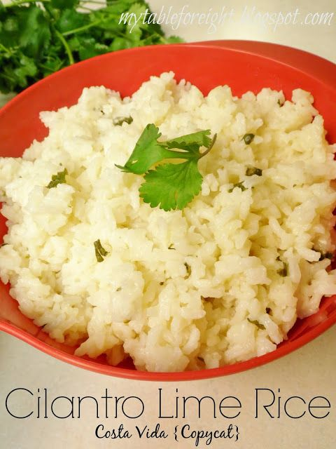 CILANTRO LIME RICE | FIGHTING TEMPTATION | Pinterest