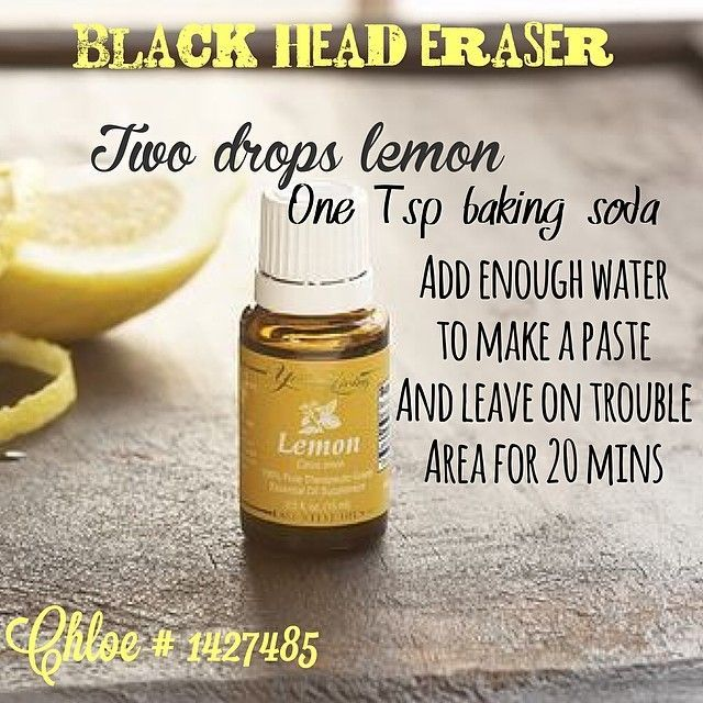 Young Living - Blackhead Eraser with Lemon Oil!
