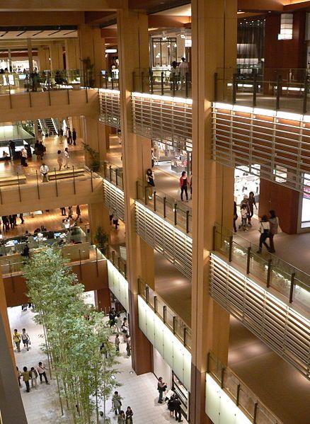 438px-Tokyo_Midtown_Galleria_2