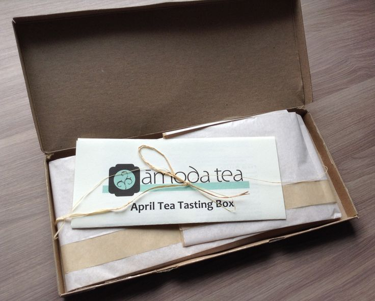 Amoda Tea Subscription Box Review - Tea Delivered Monthly!