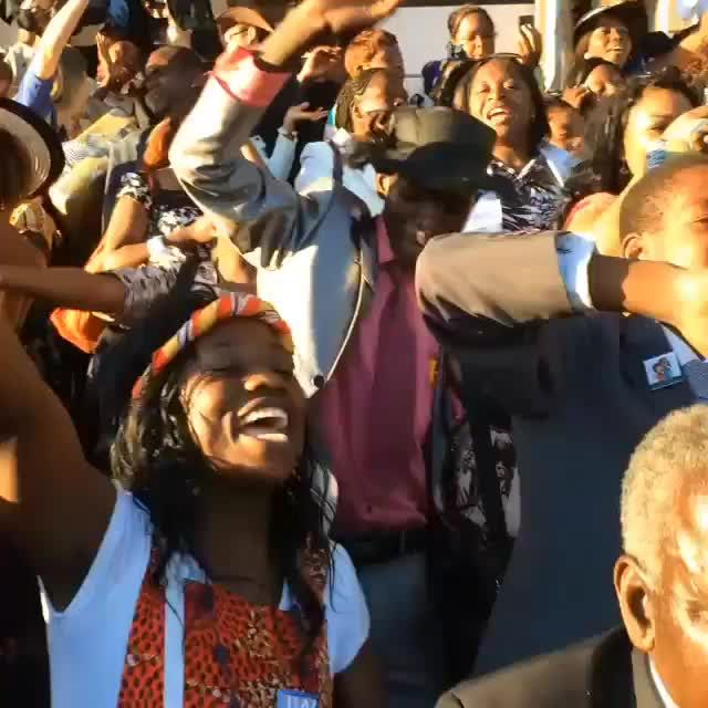 Final song after the international convention in Zimbabwe! I have never experienced anything like this! Jehovah loves us! by jw_service_day